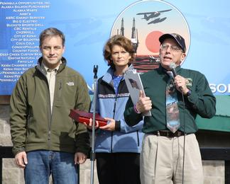 Sen. Murkowski and Gov. Parnell Peninsula Industry Appreciation Day