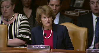 Senator Murkowski Questions Military Leaders on U.S. Strategy in the Arctic