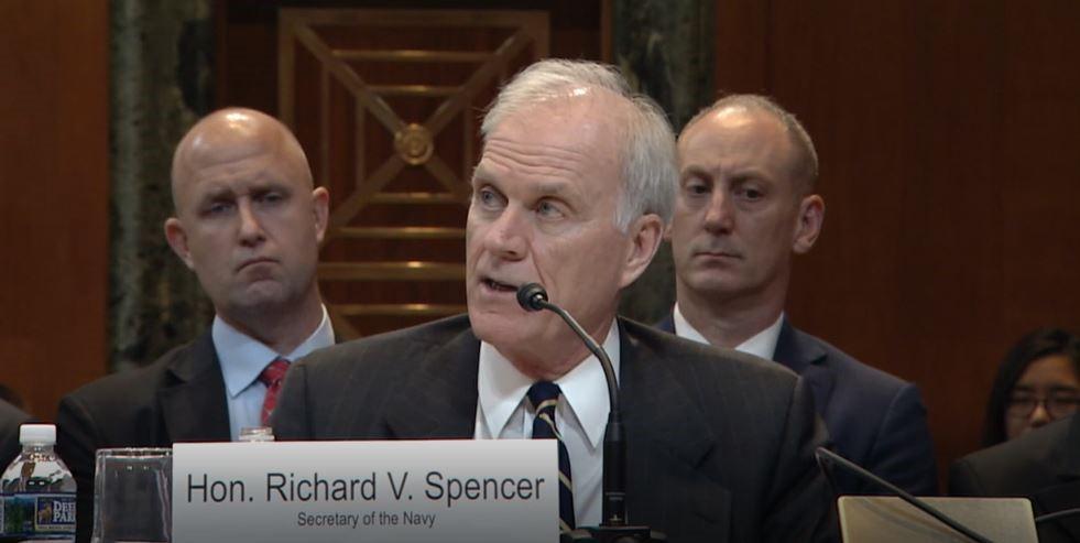 Defense Appropriations Hearing Secretary Spencer