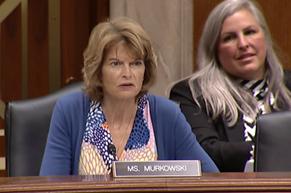Senator Murkowski Interior Appropriations